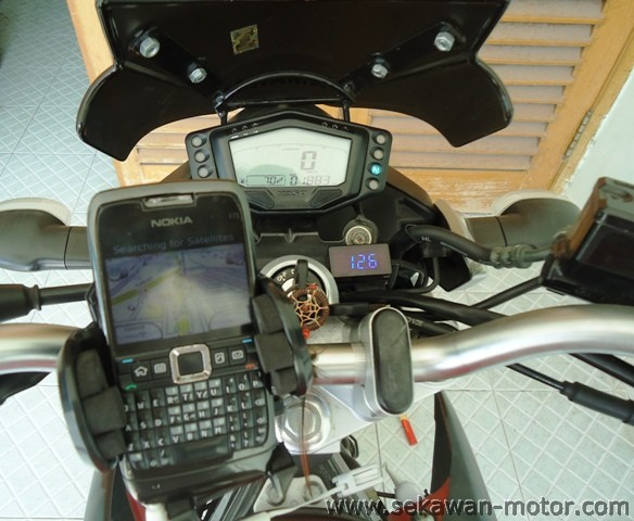 GPS Holder+Charger Kit