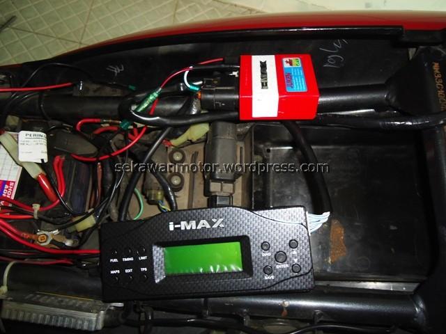 ECU dan Remote terpasang